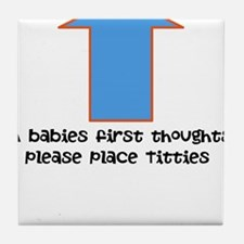 Baby food Tile Coaster