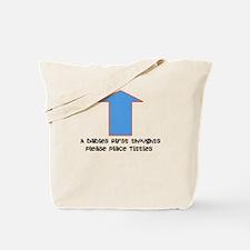Baby food Tote Bag