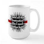 Banded Frustration Large Mug