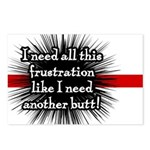 Banded Frustration Postcards (Package of 8)