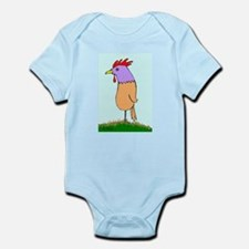 Mr. Rooster Contemplating the Universe Infant Body