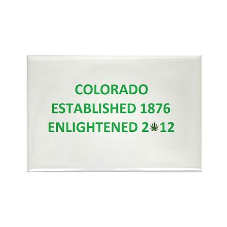 Colorado Enlightened Rectangle Magnet