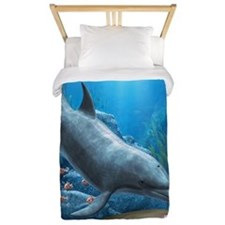 The World Of The Dolphin Twin Duvet