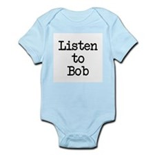 Listen to Bob Infant Bodysuit