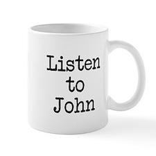 Listen to John Mug