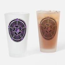 Cute Wicca Drinking Glass