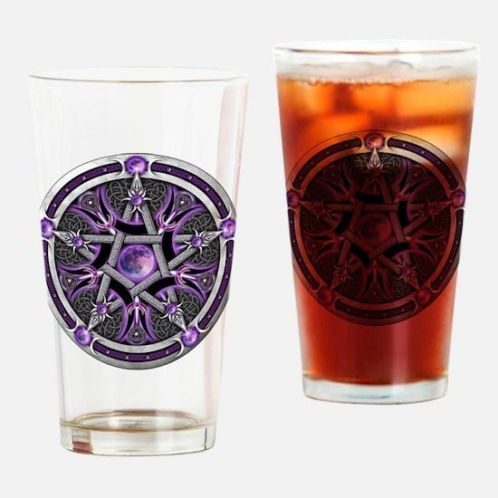 Unique Pentagram Drinking Glass