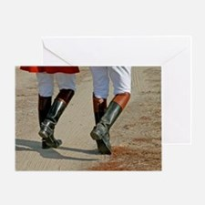 Riding Boots-Greeting Card