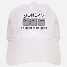 Monday Geek Computer Keys Baseball Baseball Cap