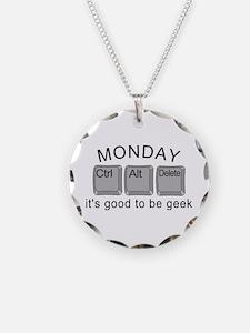 Monday Geek Computer Keys Necklace