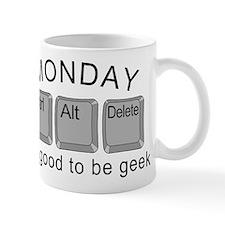 Monday Geek Computer Keys Mug