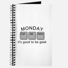 Monday Geek Computer Keys Journal