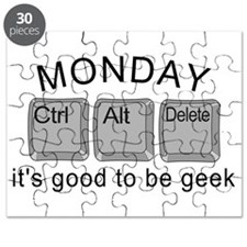 Monday Geek Computer Keys Puzzle