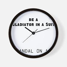 Gladiator#1 Wall Clock