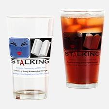 Facebook Stalking Drinking Glass