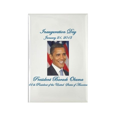 Inauguration Day Jan/21/2013 Rectangle Magnet