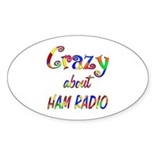 Crazy About Ham Radio Decal