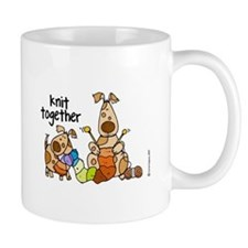 knit together II magnet Mugs