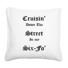 Cruisin Square Canvas Pillow