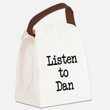 Listen to Dan Canvas Lunch Bag