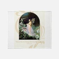 The Fairy Queen Throw Blanket