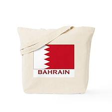 Bahrain Flag Merchandise Tote Bag