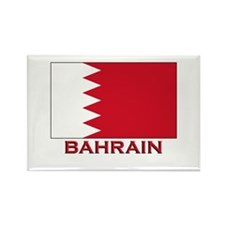 Bahrain Flag Merchandise Rectangle Magnet