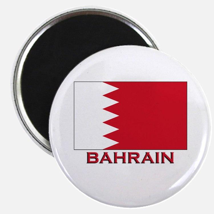 Bahrain Flag Merchandise Magnet