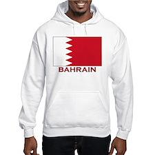 Bahrain Flag Merchandise Hoodie