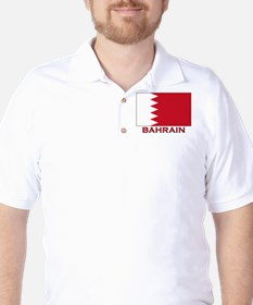 Bahrain Flag Merchandise Golf Shirt