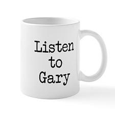 Listen to Gary Mug