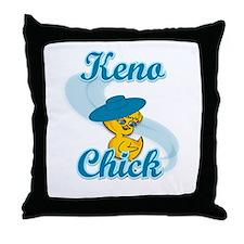 Keno Chick #3 Throw Pillow