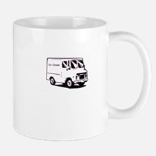 white ice cream truck funny tee Mug