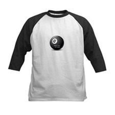 Magic 8-Ball reply hazy try again funny tee Tee