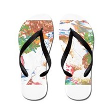Bear Wrap With Me. Flip Flops
