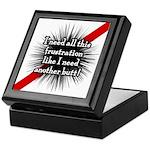 Banded Frustration Keepsake Box