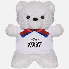Established 1937 - Birthday Teddy Bear