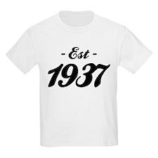 Established 1937 - Birthday T-Shirt