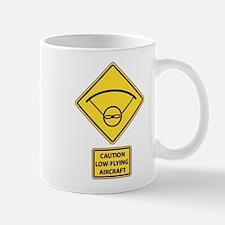 Caution Low Flying Aircraft Mug
