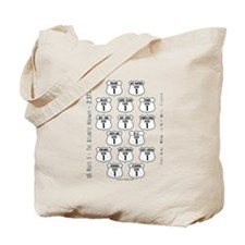US Route 1 - All States Tote Bag