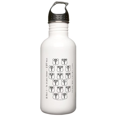 US Route 1 - All States Stainless Water Bottle 1.0