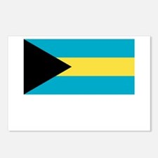 The Bahamas Flag Picture Postcards (Package of 8)