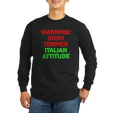 WARNINGIRISHTEMPER ITALIAN ATTITUDE.psd T