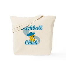 Kickball Chick #3 Tote Bag
