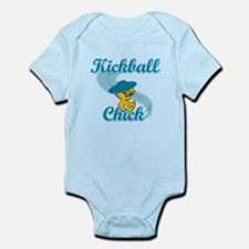 Kickball Chick #3 Infant Bodysuit