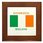 Banbridge Ireland Framed Tile