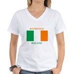 Banbridge Ireland Women's V-Neck T-Shirt