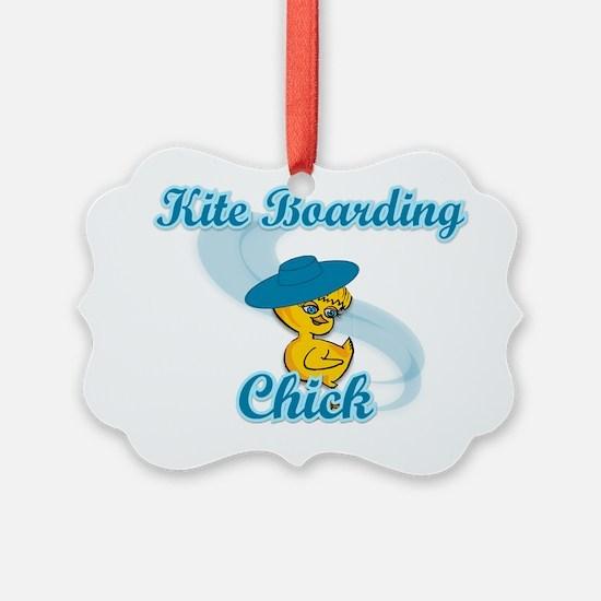 Kite Boarding Chick #3 Ornament