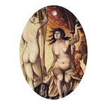 erotica Ornament (Oval)