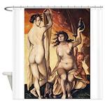 erotica Shower Curtain
